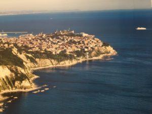 Ancona ripresa dall'alto